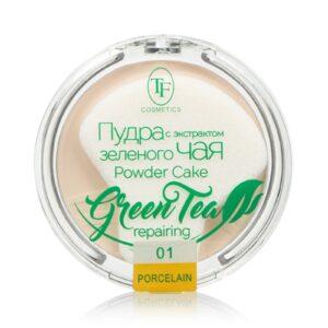 пудра с экстрактом зелёного чая 42грн